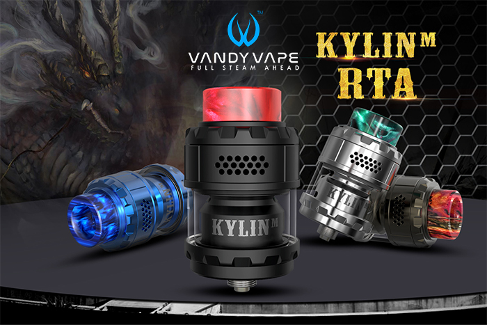 Présentation détaillée du Kylin M RTA de chez Vandy Vape