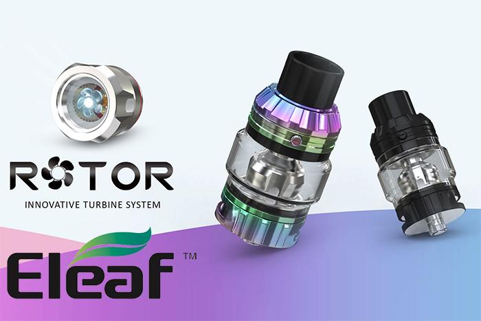 Présentation du clearomiseur Rotor par Eleaf