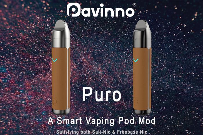 Présentation du pod Puro de chez Pavinno