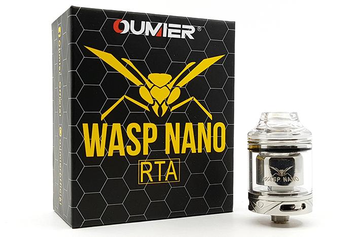 Présentation du Wasp Nano RTA de chez Oumier