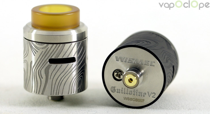 dripper reconstructible wismec guillotine v2