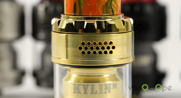 Airflow Atomiseur Kylin RTA Vandy Vape