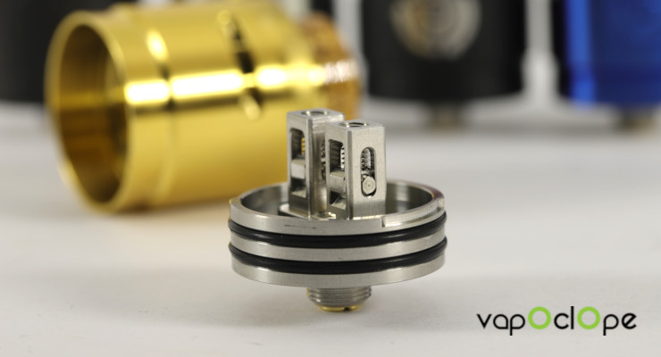 Montage coil Dripper Passage RDA Hellvape