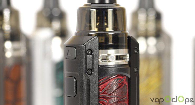 L'airflow réglable du kit Ursa Quest 100w de chez Lost Vape