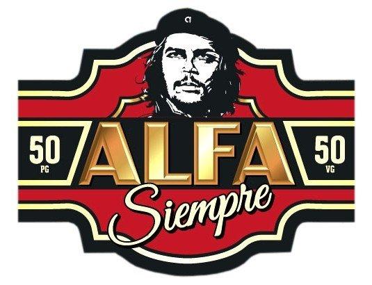 E-liquide Alfaliquid Alfa Siempre pour cigarette électronique