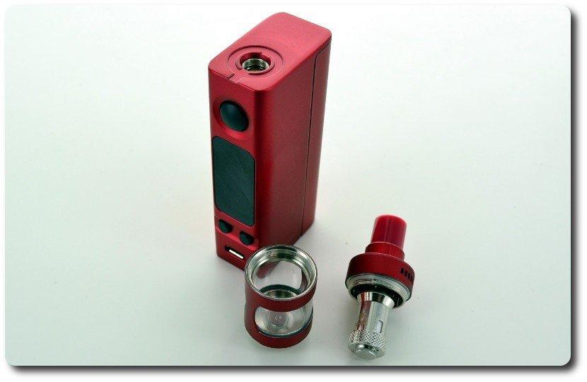 Kit e-cigarette Joyetech Mini VTwo Rouge et clearomiseur Cubis Pro