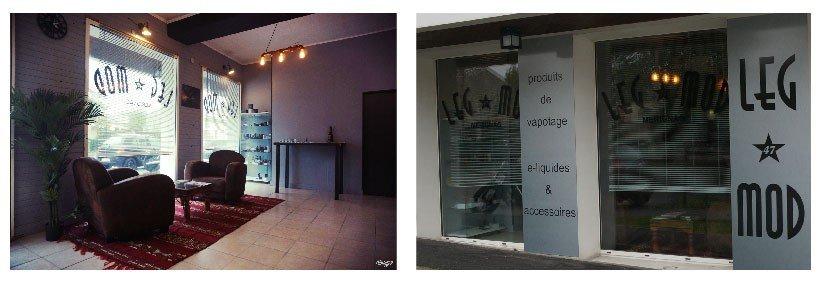 Aperçu de la boutique LEG Mod de Mérignac, membre du réseau vapoclope