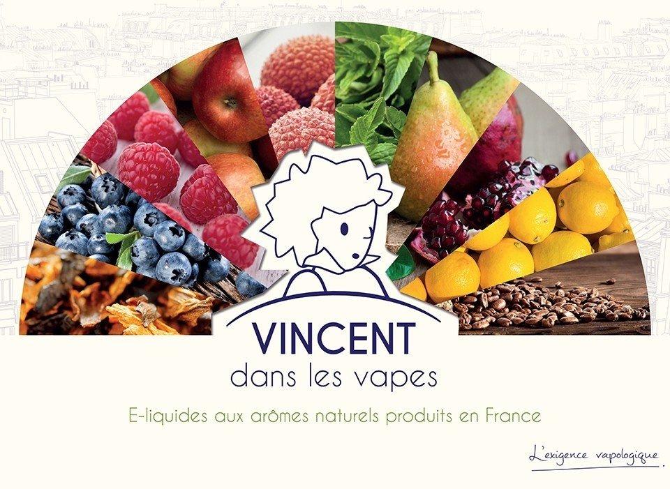 E-liquides aux arômes naturels vincent dans les vapes de VDLV