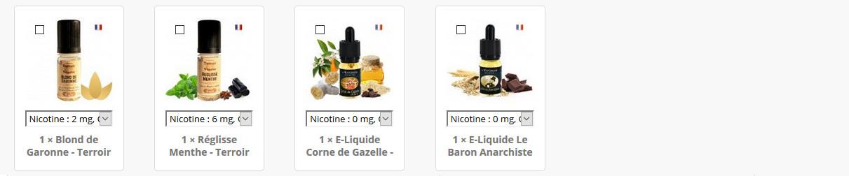 Cadeaux cigarette electronique et e liquide