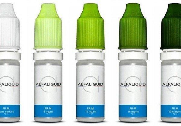 E liquide Alfaliquid, une marque francaise