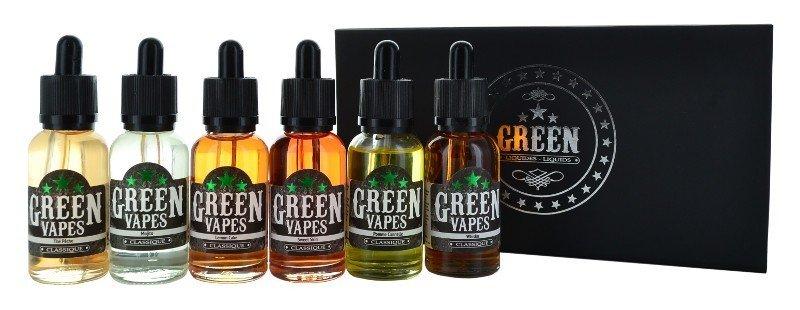 E liquide pour e-cigarette Green Liquides
