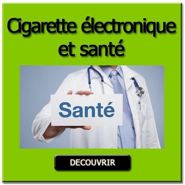 Cigarette électronique et santé