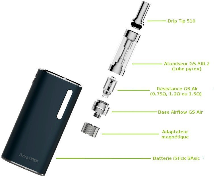 Kit e-cigarette iStick Basic eLeaf