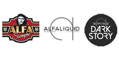 Les gammes de e-liquides de la marque française Alfaliquid