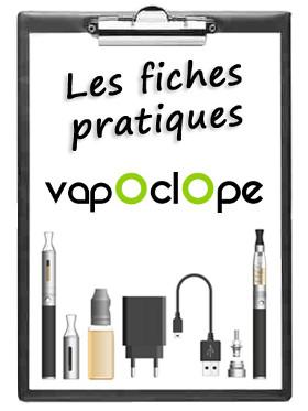 Comprendre la cigarette électronique fiches pratiques