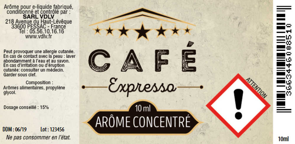 Arôme Café Expresso 10ml Authentic Cirkus 4769.jpg
