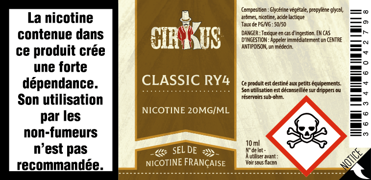 Classic RY4 sels de nicotine Authentic Cirkus classic_ry4_20mg.png