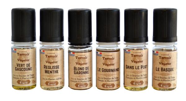 E Liquides Tabac blond et tabac brun Terroir et Vapeur